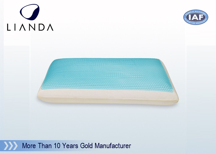 Forever Cooling Gel Memory Foam Pillow Wave Shape CA117 / BS5852