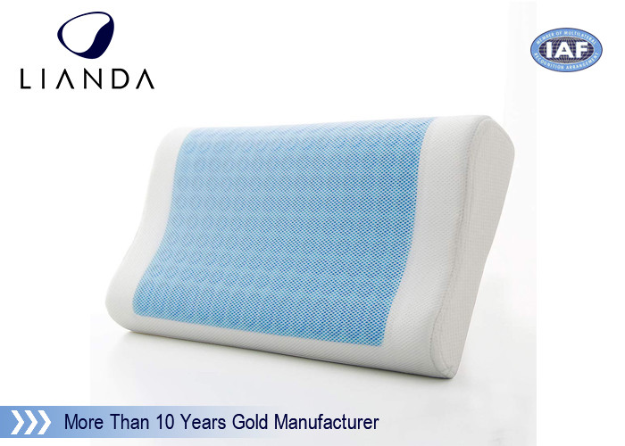 Rectangle fibre white Cooling Gel Pillow Luxurious Premium Memory Foam