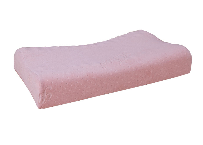 Moulded PU Foam Pillow , Visco Elastic Private Label Memory Foam Pillow