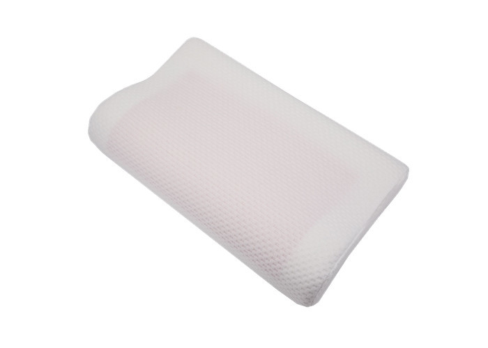 Silica Gel Memory Foam Pillows Soft Therapeutic Knitted Fabric Outer Cover